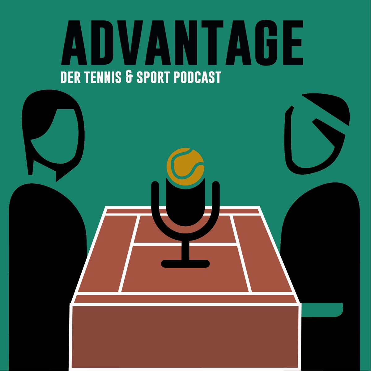 Advantage- der Tennis & Sportpodcast