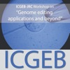 """ICGEB-JRC Workshop on """"Genome editing applications and beyond"""" artwork"""