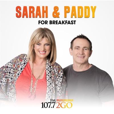 Sarah and Paddy:2GO 107.7 Central Coast
