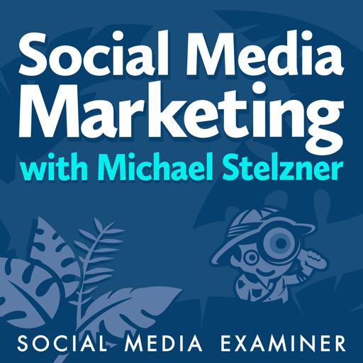 Cover image of Social Media Marketing Podcast