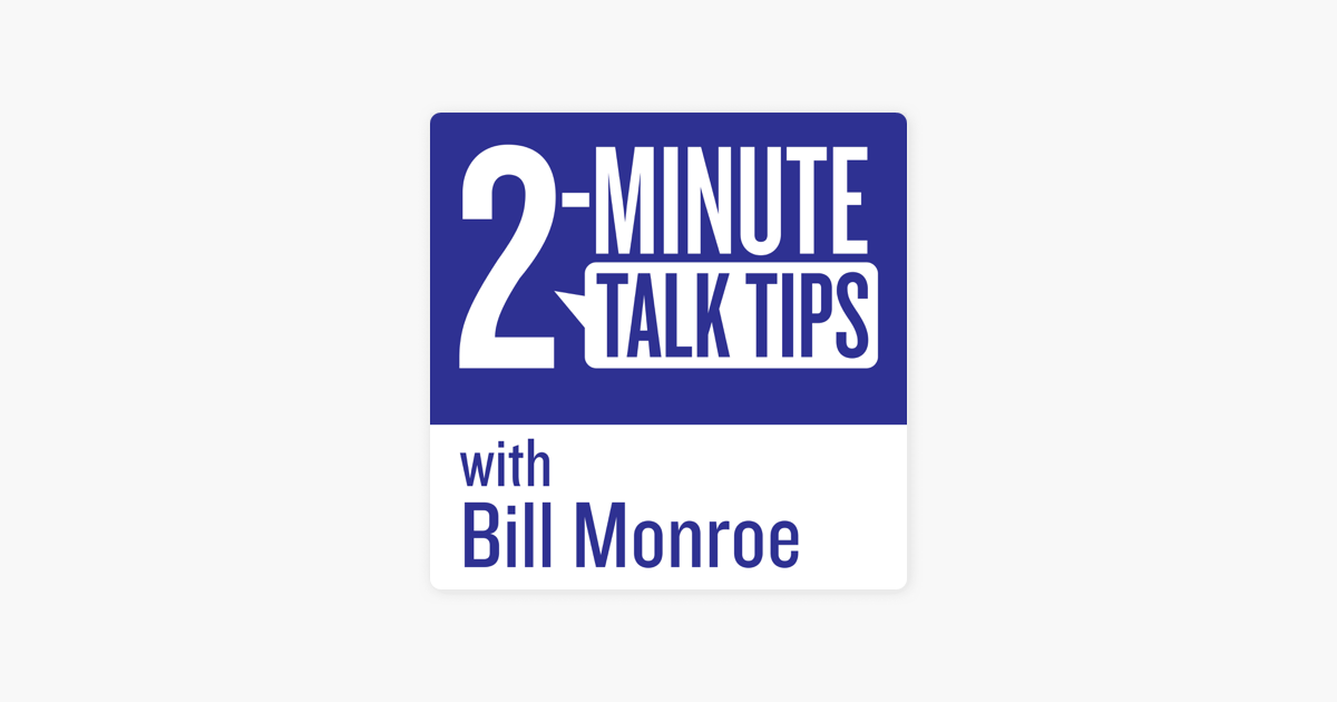 2-Minute Talk Tips on Apple Podcasts