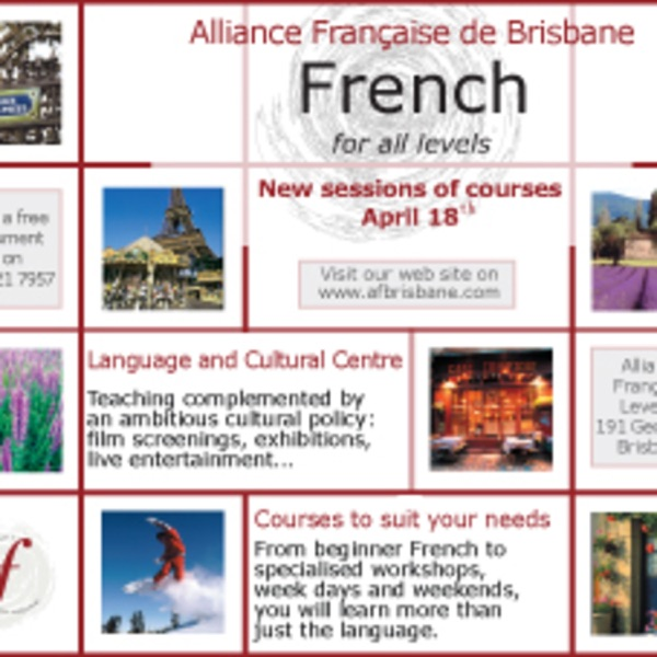 Alliance Francaise de Brisbane's podcast