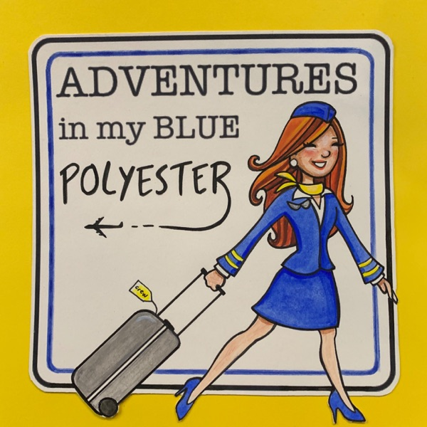 Adventures in my blue polyester