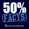 50% Facts with Silent Mike & Jim McD artwork