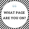 What Page Are You On? artwork
