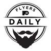 Flyers Daily with Jason Myrtetus artwork