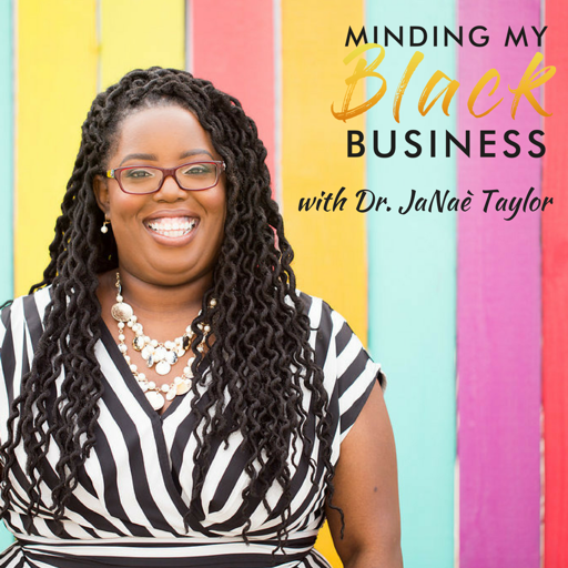 Cover image of Minding My BLACK Business
