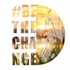 #BetheChange with Christine Dimmick artwork