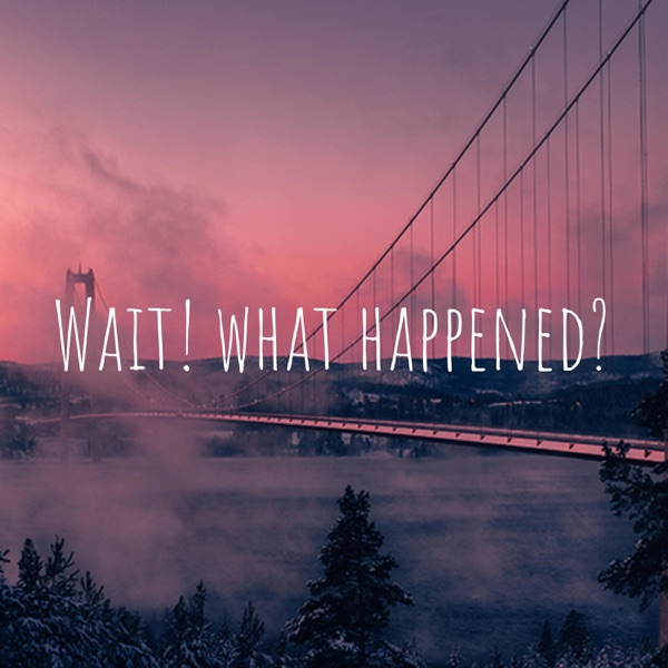 Wait! what happened?