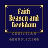 Faith Reason and Geekdom's podcast artwork