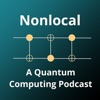 Nonlocal: a quantum computing podcast artwork