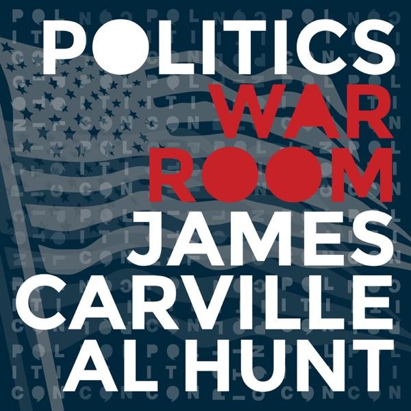 Politics War Room with James Carville & Al Hunt banner image