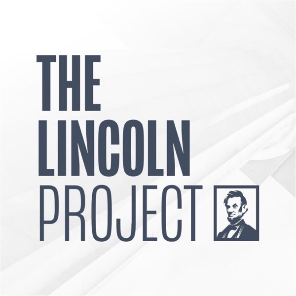 The Lincoln Project banner backdrop