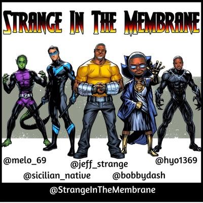 Strange In The Membrane:Gotham Podcast Studio