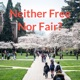Neither Free Nor Fair?