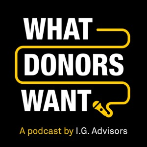 What Donors Want