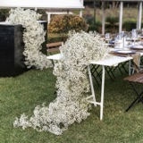 Reception Tablescapes the right vase or vase-less table floral design for your wedding day!
