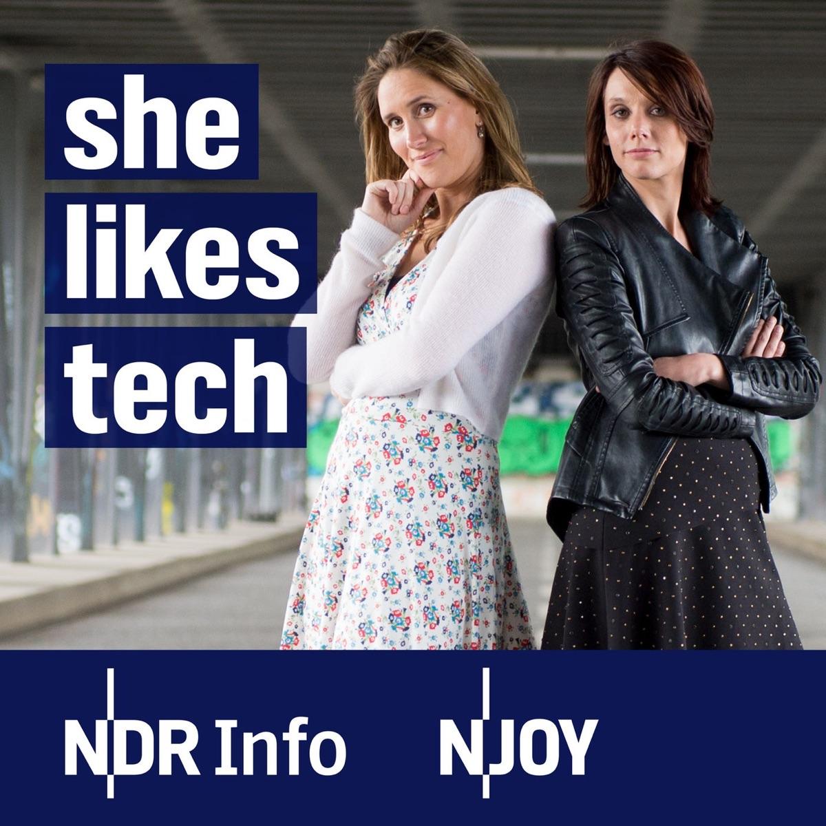She Likes Tech – der Podcast über Technologie