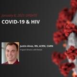 UPDATE 1/8/2021 - COVID-19 & HIV