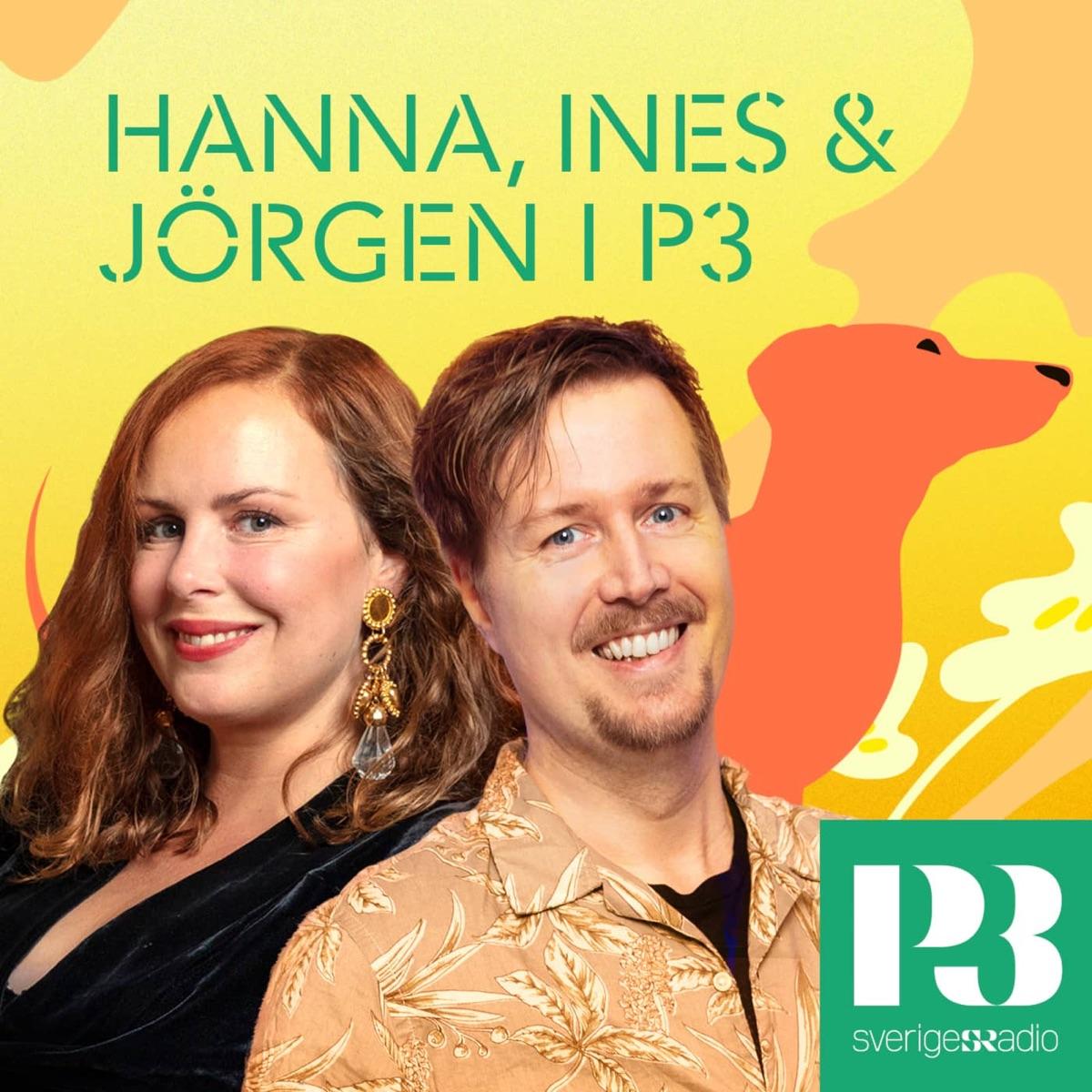 Hanna Hellquist, Ines och Jörgen Lötgård i P3