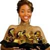 Queen Mel at the Grammys artwork
