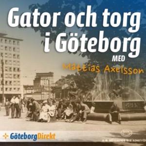 Gator och torg i Göteborg
