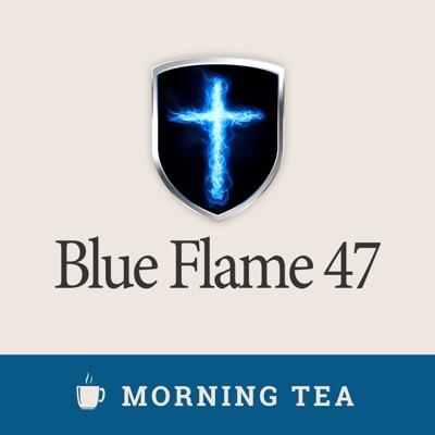 Blue Flame Morning Tea