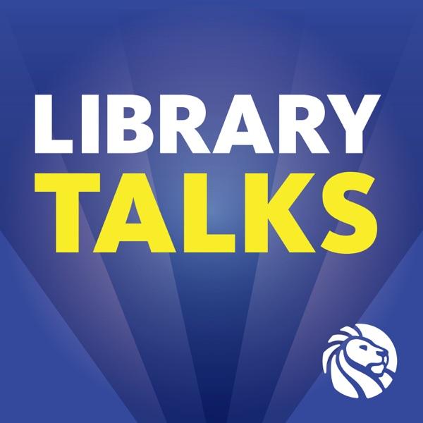Library Talks banner backdrop