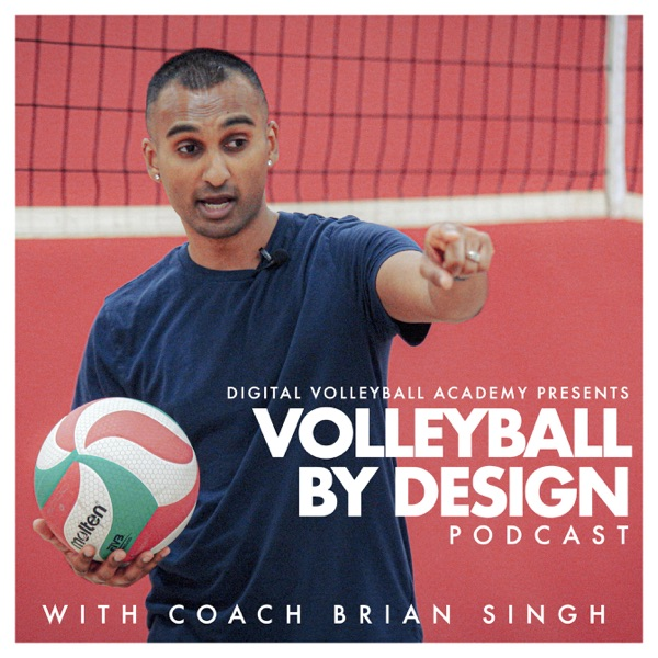 The Volleyball By Design Podcast banner backdrop