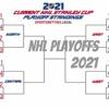 NHL playoffs 2021  artwork