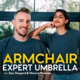 Image of Armchair Expert Umbrella with Dax Shepard podcast