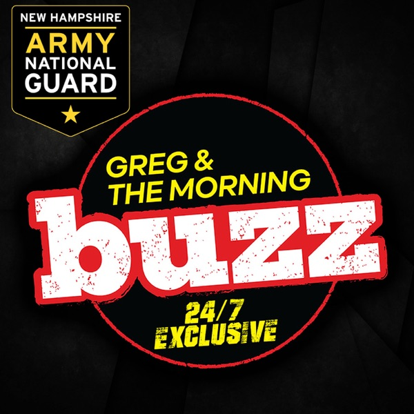 Greg & The Morning Buzz banner backdrop