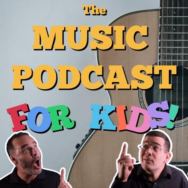 The Music Podcast for Kids! Artwork