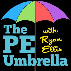 The PE Umbrella   Podcasting ALL things Primary Physical Education