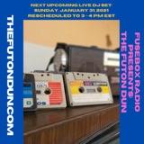 FuseBox Radio #634: DJ Fusion's The Futon Dun Livestream DJ Mix Winter Session #1 (Carhartt Cold With The Coffee Hot Music Mix #1)