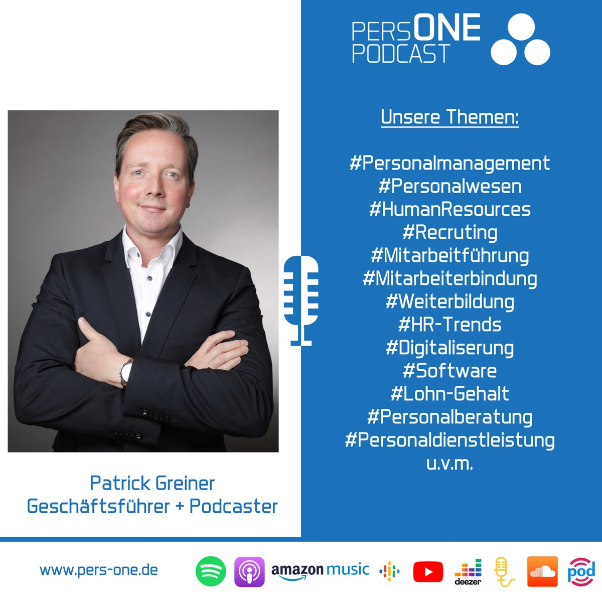 PERSONE PODCAST   Der Personal-Podcast