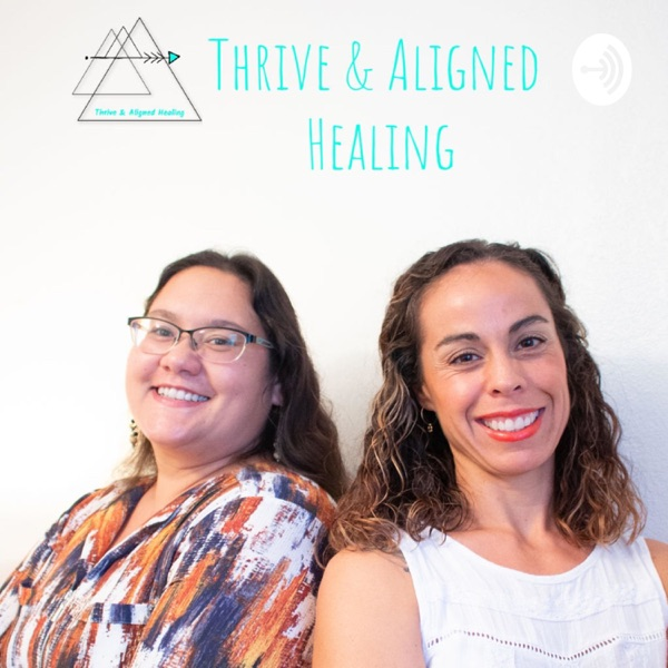 Thrive and Aligned Healing Artwork