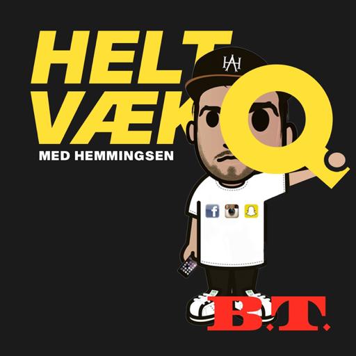 Cover image of Helt væk med Hemmingsen