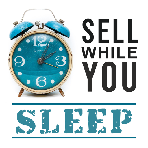 Cover image of Sell While You Sleep Podcast with Elaine Heney
