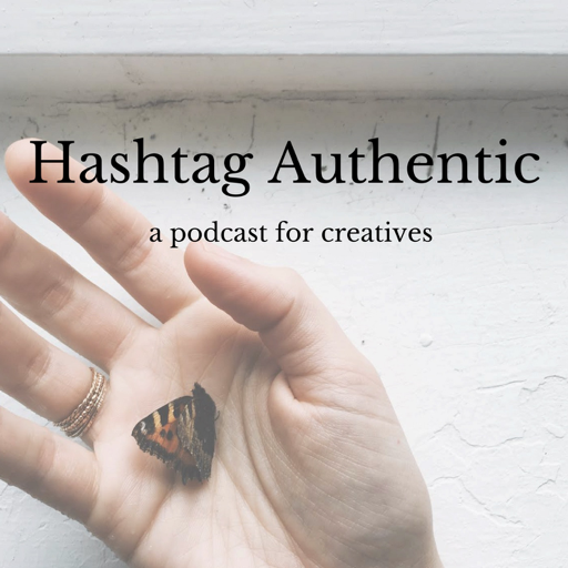 Cover image of Hashtag Authentic - a podcast for online brands, businesses and creatives
