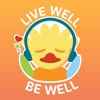 Live Well, Be Well artwork
