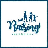Podcast cover art for Raising Boys and Girls