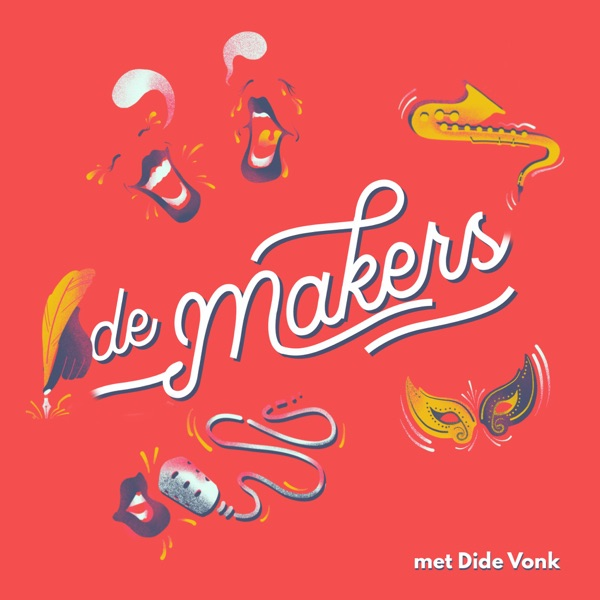 DM#24 De Makers x De Parade #7 Martine Sandifort en Remko Vrijdag