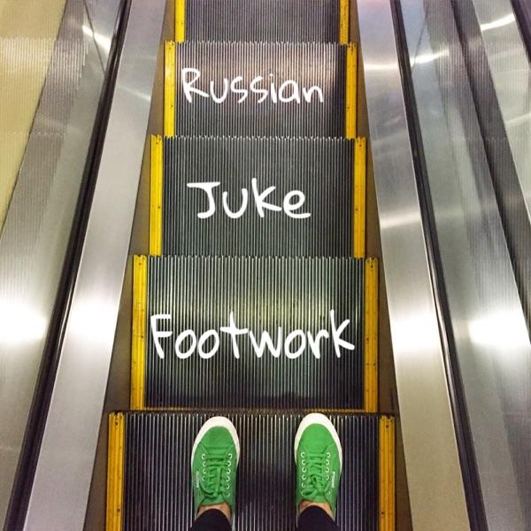 Russian Juke Footwork