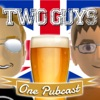 Two Guys, One Pubcast artwork