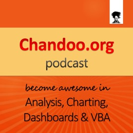 Chandoo org Podcast - Become Awesome in Data Analysis