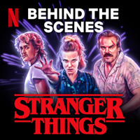 Podcast cover art for Behind The Scenes: Stranger Things 3