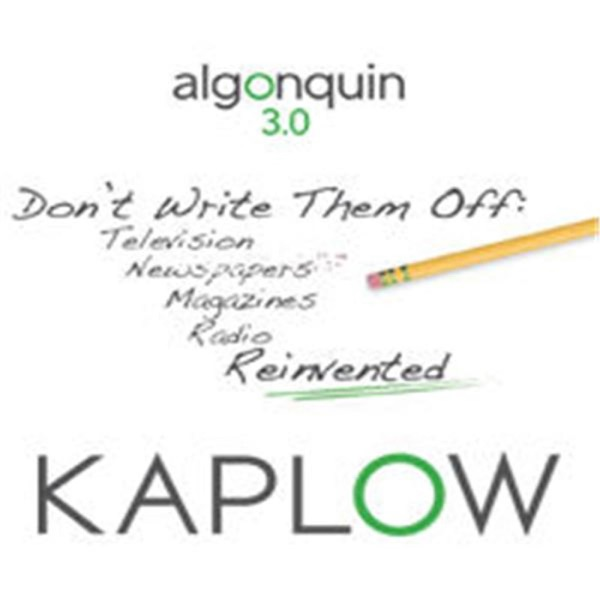 Kaplow's Algonquin 3.0 Round Table