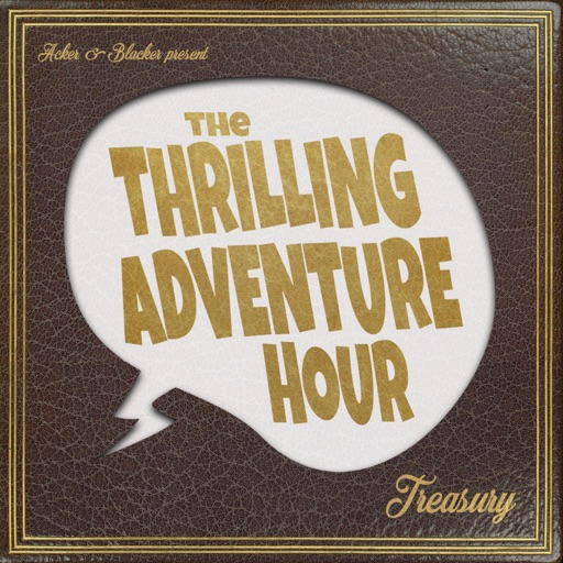 Cover image of The Thrilling Adventure Hour Treasury