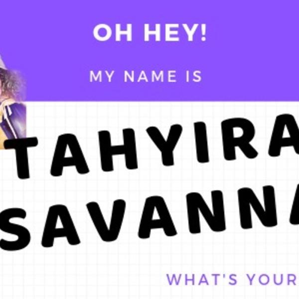 Live Hangouts: Tahyira Keeps It Too Reel